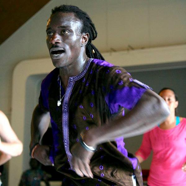 Malick Ndiaye og Amdy Ngom
